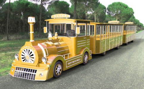 doctor series tourist train golden style